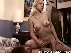 Busty Sunny getting railed on behind