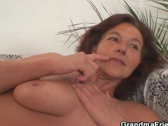 Old bitch fucks her daughter s man