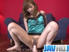 Japanese masturbation solo along nasty Meri?Kanami