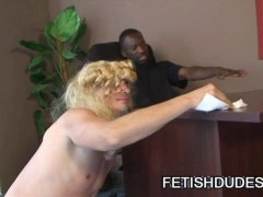 Hot Boi and Mark GalfTone: Hot Cross Dress Humiliation Sex Scene