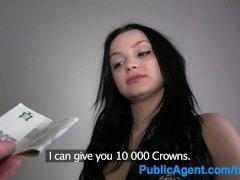 PublicAgent Martina gets her shaven p...