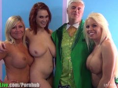 St Patrick s pornstar orgy party  Vol 1