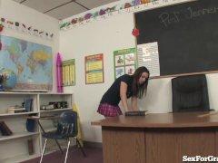 Slutty Student Fucking 2 Teachers