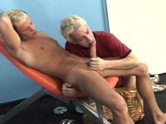 Big cock Honza Salava and blond Marek Koutny from Hammerboys TV