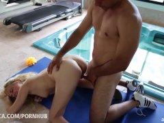 Mexican fucks hot european girlfriend in the ass