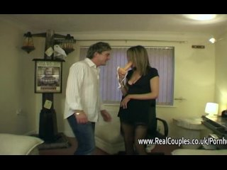 Kinky middle aged couple are filmed while hubby toys fingers and fucks her