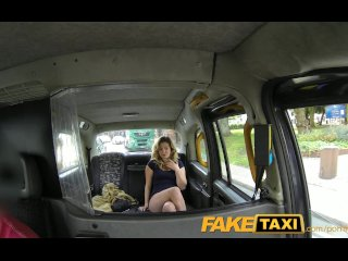 FakeTaxi Horny young teen takes on old cock