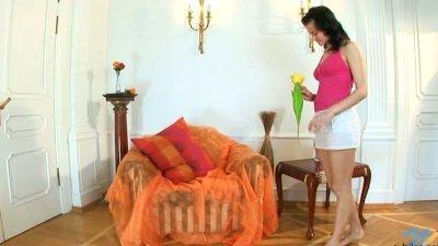 Nubiles Cherri lets her stud torture her pussy