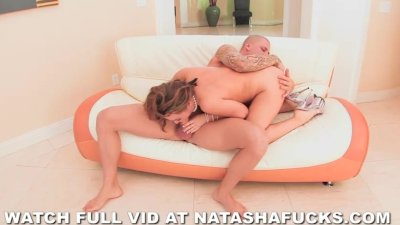 Big Natural Tits Bounce While Getting Pounded Hard