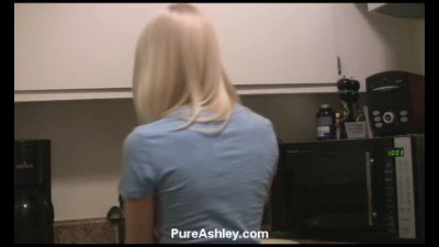Ashley water sprayer masturbation