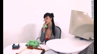 Aletta Ocean nerdy secretary