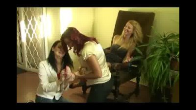 Jade Gets Foot Tickled in the Hall