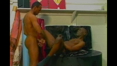 Wild black gays sucking and fucking dicks goes for butt fucking