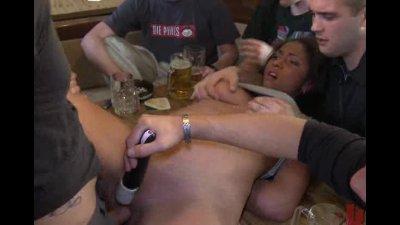 Voluptious slut taken on a fuc
