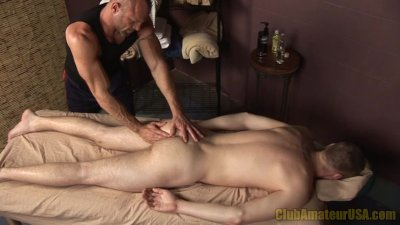 Brent's First Erotic Massage