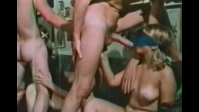 Exchanging partners at swingers sex party