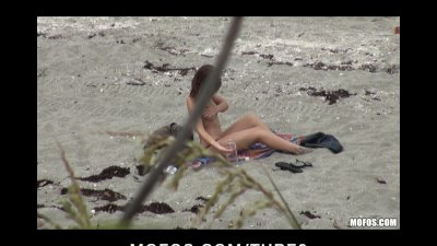 SMALL TIT BRUNETTE TEEN GF CAUGHT ON VIDEO FUCK OUTDOORS ON BEACH
