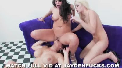 Jayden Jaymes, London Keyes, And Rebecca Blue Have Orgy