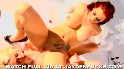 Jayden Jaymes and Rebecca Blue Suck And Fuck In Warehouse