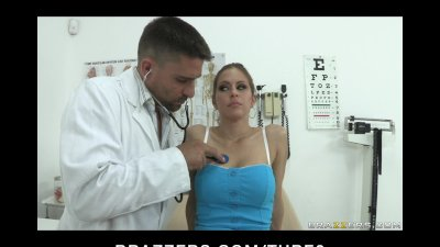 BIG TIT PORNSTAR RACHEL ROXXX DEEPTHROAT FUCKS DOCTOR AT OFFICE