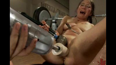 Squirting on the Machine