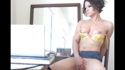 Sleazy webcam on hot gf Anne