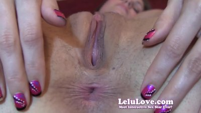 Lelu LoveCloseup HD Asshole Puckering