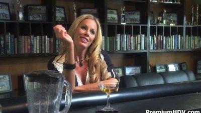 Drunk horny milf Nicole needs fuck