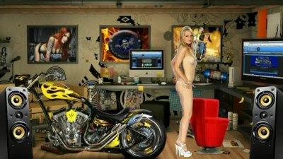 Striptease de san valentin 2012
