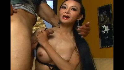 Asian sex in stockings and hee