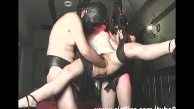Slave slut fisted and fucked w