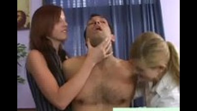 Sluts suffocate dude with cock out