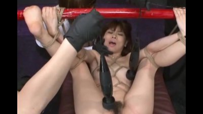 Japanese Bondage Sex Extreme BDSM Punishment of Asari Pt. 6
