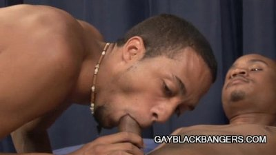 Black dude ready for some gay love