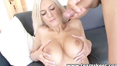 TeamSkeet Facial Tits Ass Cumshot compilation video