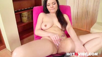 Nicole Strips And Fingers