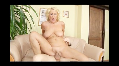 GILF Takes a Young Guy's Cock