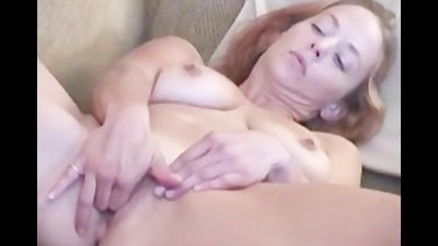 Blonde hottie Gabriella finger then toying her cunt
