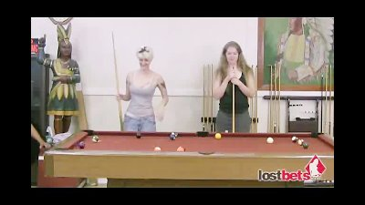 Strip 8Ball With Naomi and Lieza part 1