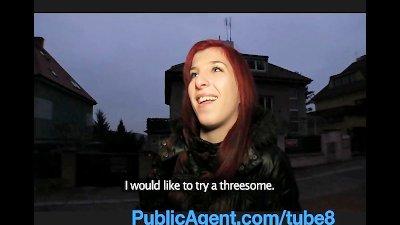 PublicAgent Bara Her pussy get