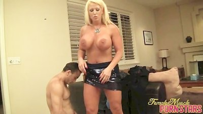 Amazon Alura Punishes Her Slaves and Demands Worship