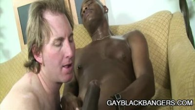 Black Man Rod Rockhard Stabbing A White Mouth With His Gigantic COck