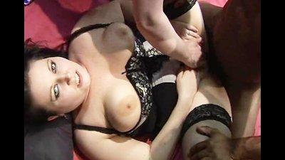 British girls get gangbanged in a UK sex club