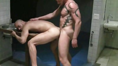 Mathias and Thiago Bathhouse Breeding