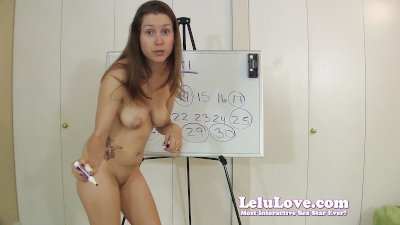Lelu LoveApril Cum Schedule Naked