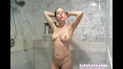 WEBCAM Shower And Shave Show