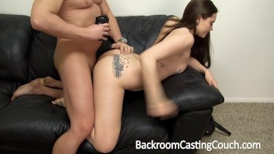 Squirting Teen Casting Couch