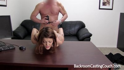 Anal Creampie Casting Couch
