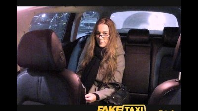 FakeTaxi Cutie with glasses fu