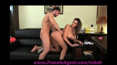 FemaleAgent Massive cumshot ac
